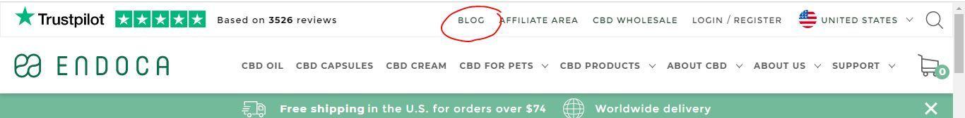 cbd endoca blog