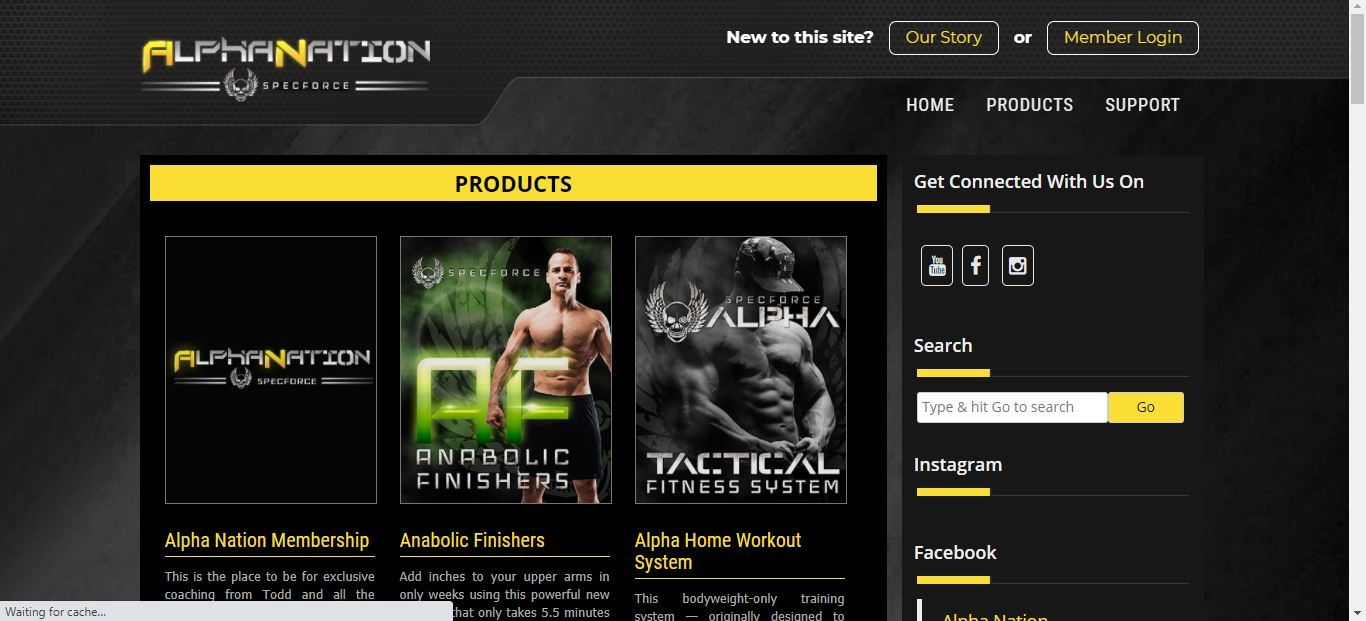 alpha nation products