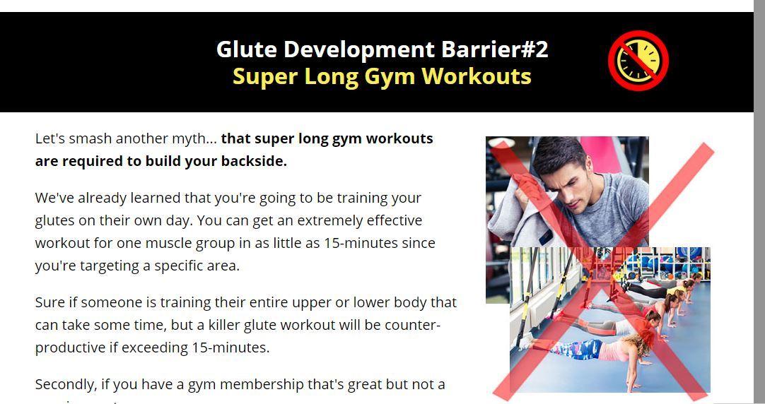 glute development barrier 2