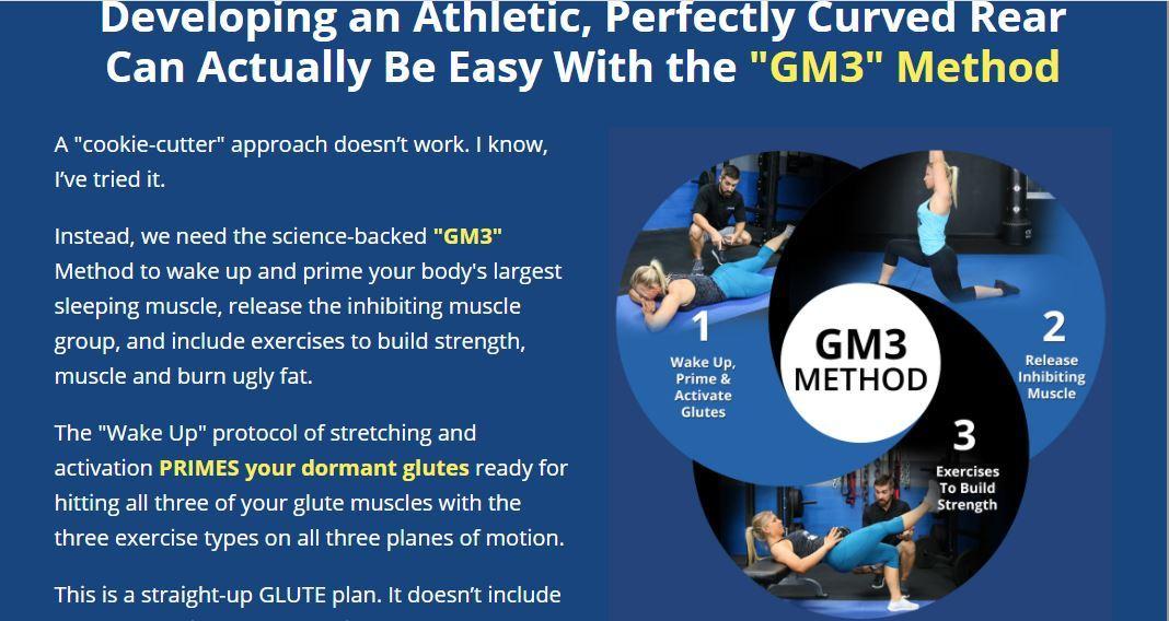 the gm3 mrthod unlock your glutes