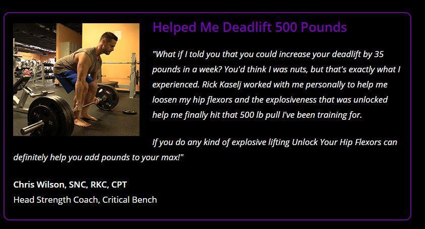 unlock your hip flexor people