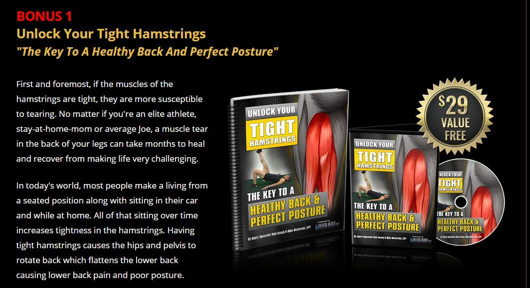 unlock your hip flexors bonus